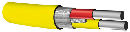 PVC Insulated, Thermocouple Extention Wire, Solid Conductors, Type J